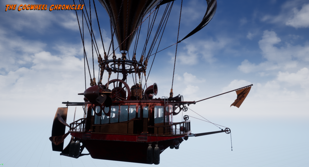 Cogwheel Chronicles - Airship - Unreal Engine